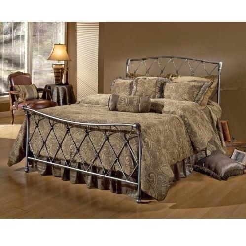 Lattice Sleigh Bed (Silverton Bed - Queen)