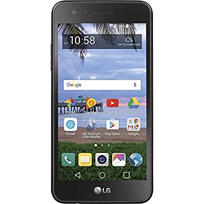 TracFone LG Rebel 2 4G LTE Prepaid Smartphone - Certified Preowned