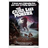 "CANVAS ON DEMAND Wall Peel Wall Art Print Entitled The Crater Lake Monster - Vintage Movie Poster 12""x18"""