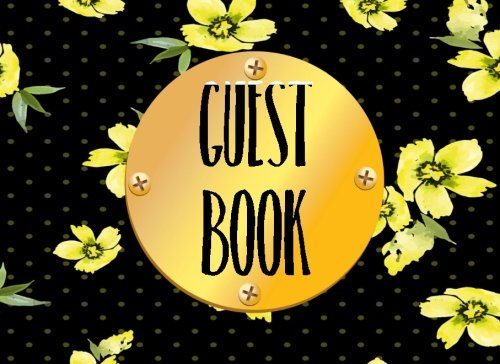 Guest Book: Guestbooks Birthday, Blank Lined Guest Book For Any Aged Birthday, (8.25