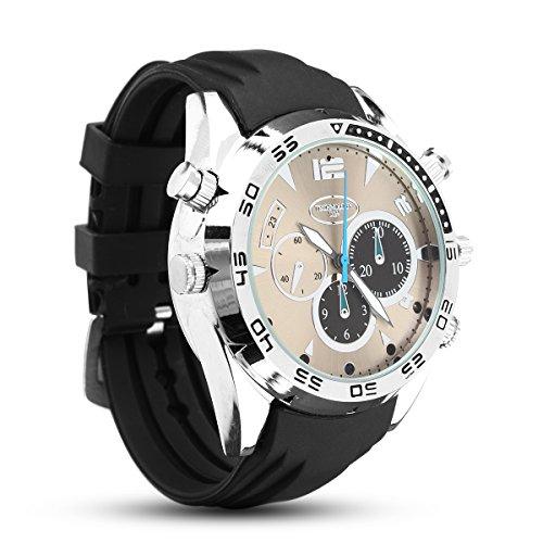 QOJA 1080p hd ir waterproof camera watch night vision rechargeable by QOJA