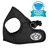 Comfy Dog Harness | Prime Polyester Adjustable Mesh Dog Puppy Pet Soft Harness Vest Include Feeding Bowl | No Pull Long Lasting Usage Pet Control | 172.3