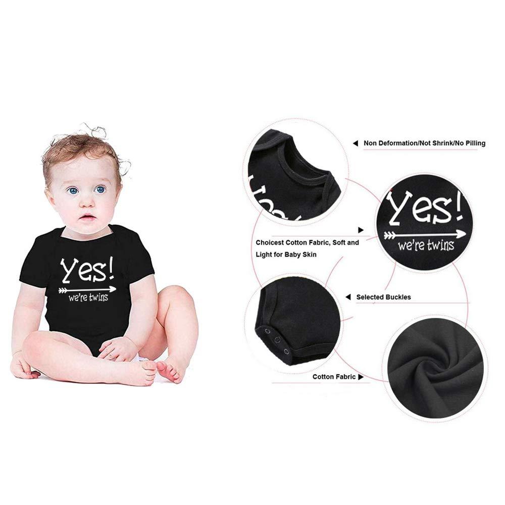 Amazon.com: Body para bebé para niños y niñas de manga corta ...