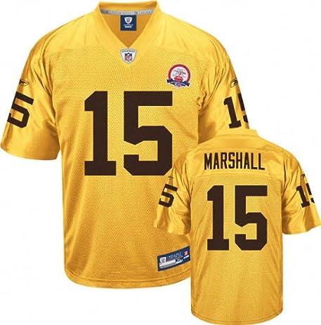 1c112bbf1 ... Brandon Marshall Jersey Reebok Gold AFL 50th Anniversary Replica 15  Denver Broncos Jersey ...