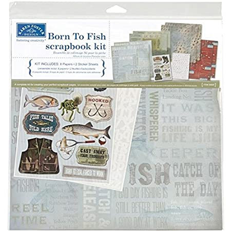 Unbekannt Karen Foster Scrapbook-Set 12x12 Inches Klassischer Opa