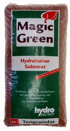 Blähton 50 Liter - Körnung 8-16 mm - Magic Green