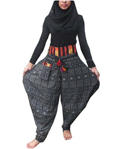 ''HITHOT'' (MADE BY THAI KAREN HILL TRIBE) **UNISEX** GENIUNE Heavy Cotton by HitHot