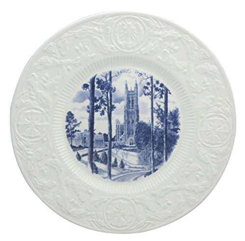Wedgwood Duke University Blue Dinner Plate (Vista Of Chapel) (Duke Dinner)
