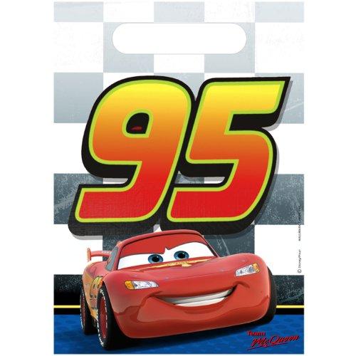 KidsPartyWorld.com Disney/Pixar Cars Dream Party Favor Bags 8 Pack -