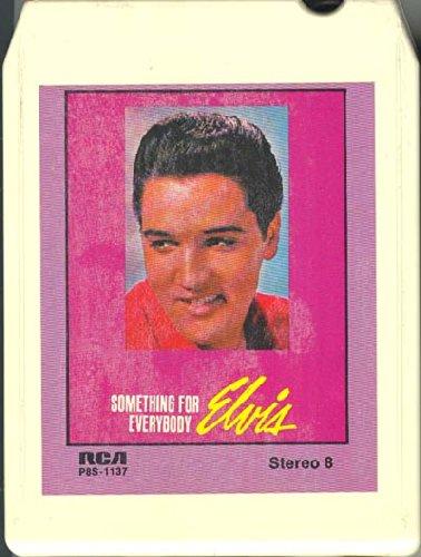 Elvis Track - Elvis Presley: Something for Everybody 8 track tape