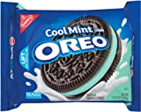 Oreo Mint Creme Oreo Cookie, 15.25-Ounce Package
