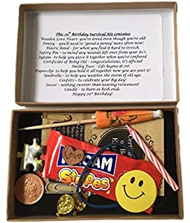 70th Birthday Survival Kit Box