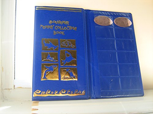 ONE Blue Souvenir Penny Collecting Book/Album For Elongated - Collector Souvenir