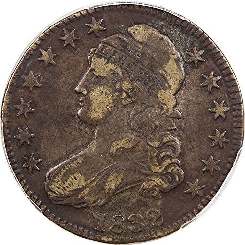 (1832 P Bust Half Dollars Large Letters Half Dollar 97 PCGS)