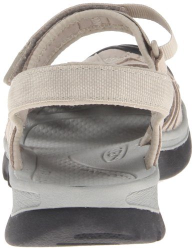 UCZ Women's Rose Hiking Sandals, Black/Neutral Gray, 9.5 M US Aluminium/Neutral Gray