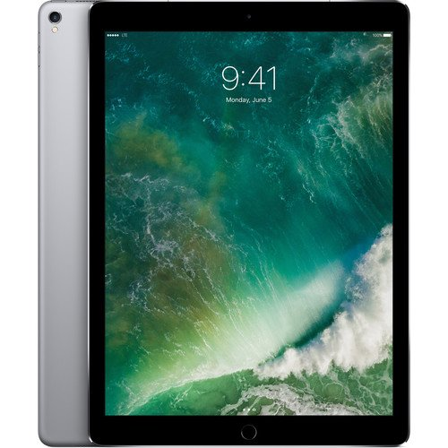 "Price comparison product image Apple 12.9"" iPad Pro (Mid 2017, 512GB, Wi-Fi + 4G LTE, Space Gray) MPLJ2LL/A"