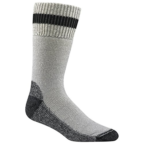 Wigwam Diabetic Thermal Socks,Gray/Black,XL