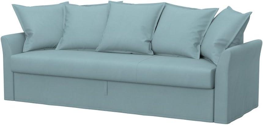 Soferia - IKEA HOLMSUND Funda para sofá Cama de 3 plazas, Eco ...
