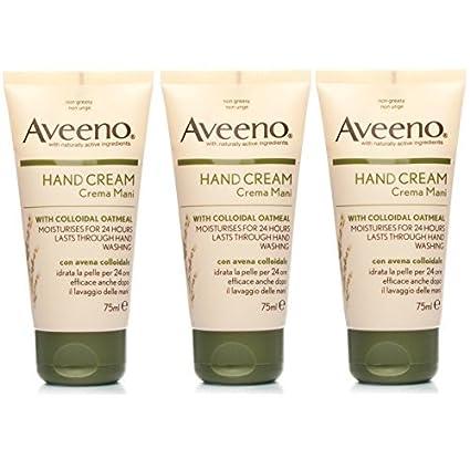 Set de 3 productos Aveeno de Jonson & Jonson, de 75 ml, crema