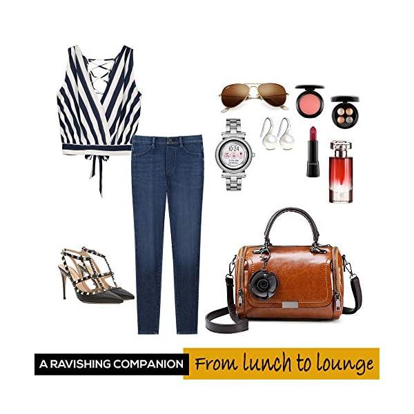 Small Cute Unique Shape Handbag for Women - Ladies Top-Handle Bag and Purse