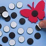 Discos Magnéticos Autoadhesivos para Artesanía Perfectos para Manualidades Creativas y Decoraciones Personalizadas de Niños (Pack de 150)