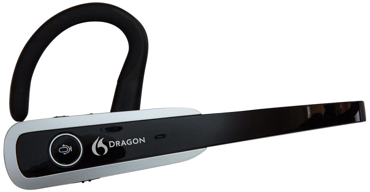 Nuance Dragon Bluetooth Headset, Dictate Documents and Control your PC - all by Voice, [PC Disc] by Nuance Dragon