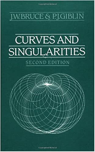Téléchargements gratuits livre audio Curves and Singularities: A Geometrical Introduction to Singularity Theory by J. W. Bruce (Littérature Française) PDF iBook PDB