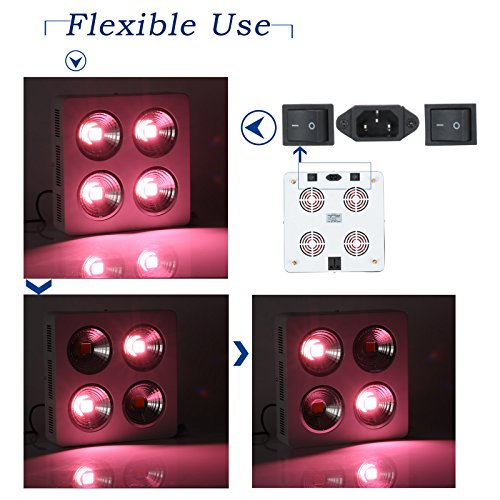 51EkXVCDxFL - Roleadro 800W-S Full Spectrum LED Grow Light for Veg and Flowering