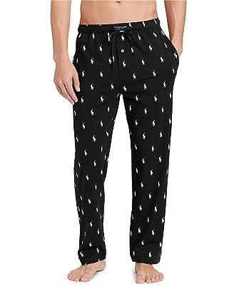 cf09e194f Amazon.com  Polo Ralph Lauren Classic Knit Lounge Pants  Clothing