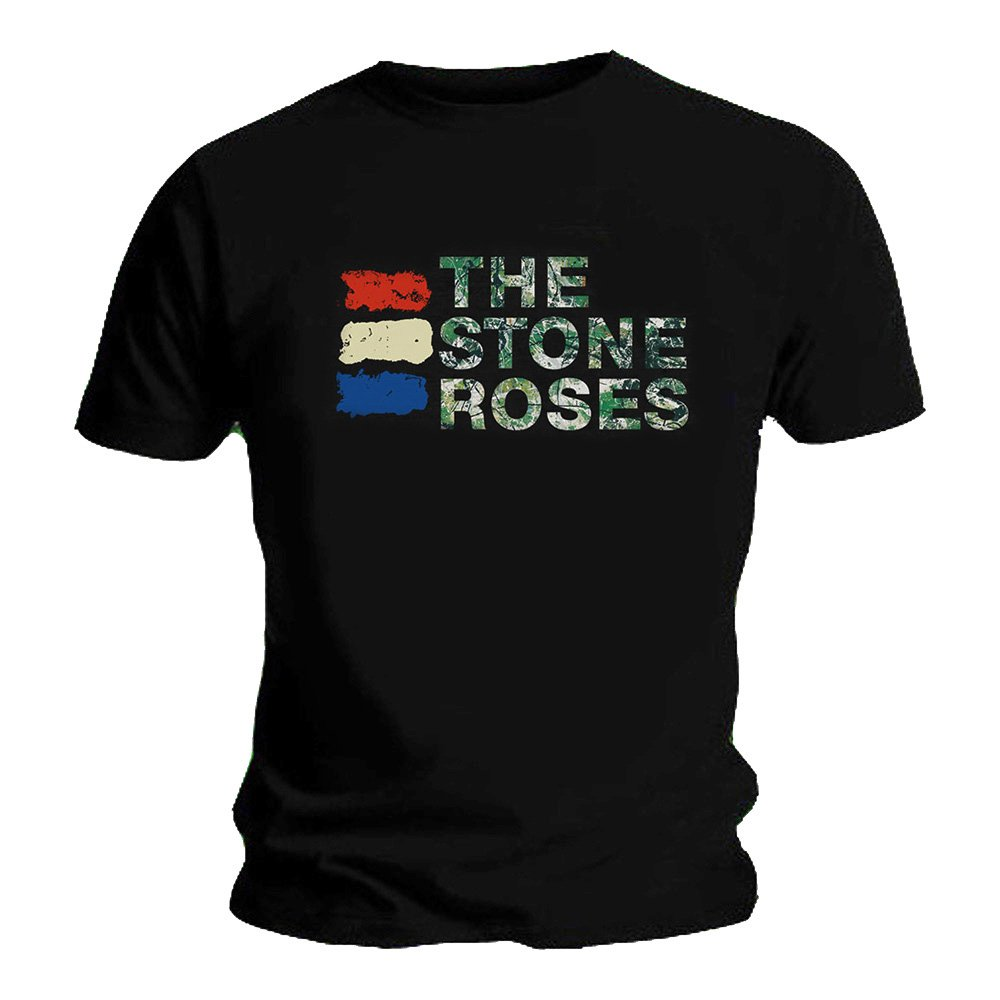 Stone Roses Official T Shirt The Lemon 3 Three Colours Logo