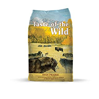 Taste of the Wild Grain Free High Protein Real Meat Recipe High Prairie Premium Dry Dog Food - (Discontinued size by manufacturer)
