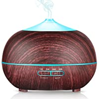 Pecham 400ml 7-Color LED Changing Lights Essential Oil Diffuser
