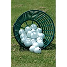 Bucket of Golf Balls on the Driving Range Sports and Recreation Journal: 150 Page Lined Notebook/Diary