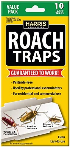 Harris Roach Traps Pesticide 10 Pack product image