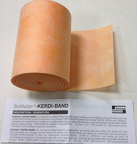 """SCHLUTER KERDI-BAND - 5"""" X 33'"""