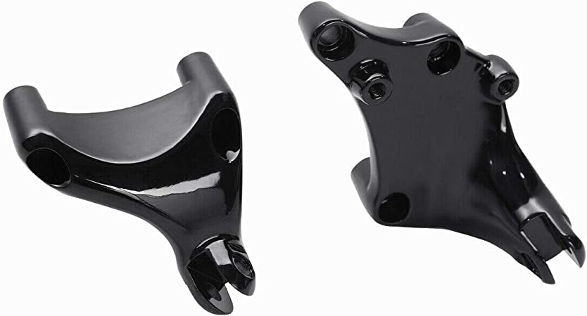 TCT-MT Passenger Footpeg Mount Brackets Fit For Harley Sportster Iron 883 XL883N Forty Eight XL1200X 2014-2020; SuperLow XL883L 14-2019; Roadster XL1200CX 16-20; Custom XL1200C 14-18 Black