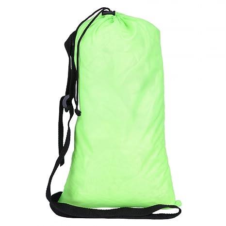 Fashion hinchable Creative playa tumbona Sacos de dormir interiores y exteriores colchones de aire Compresión Air