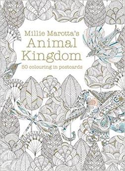 Millie Marottas Animal Kingdom Postcard Box Amazoncouk Millie Marotta 9781849942904 Books