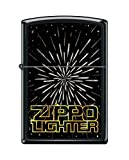 Zippo Custom Design Space Reg Blk Matte Windproof Collectible Lighter. Made in USA Limited Edition & Rare