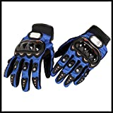 One Pair Of Motorbike Fitting Pro-Biker Blue Size M Racing Protection Motocross Gloves Fit For 2007 2008 2009 2010 Suzuki Bandit 650