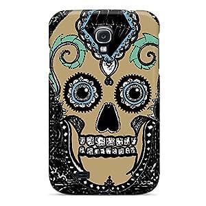 Excellent Design Sugar Skull Case Cover For Galaxy S4