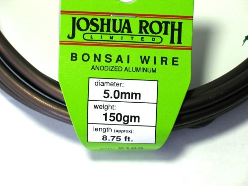 Bonsai Wire 5.0 mm 50 Percent More Than Competing Brands