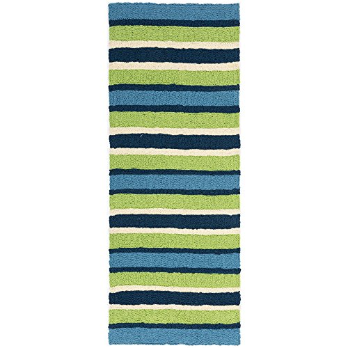 "Jellybean South Bay - 21"" X 54"" Striped Indoor Outdoor Area"