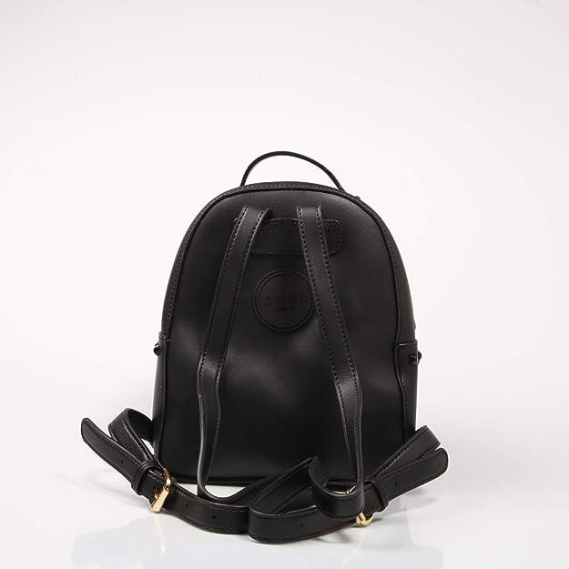 COOLWAY, mochila con tachas en color negro para mujer: Amazon.es: Zapatos y complementos