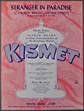 img - for Stranger in Paradise (From 'Kismet') (Piano Vocal, Sheet Music) book / textbook / text book