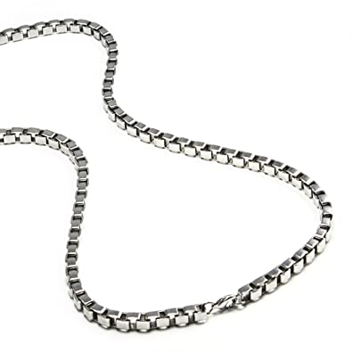 pendant fashion hoypede necklaces stainless necklace silver steel ladies