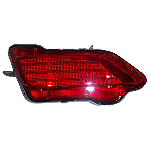 Drivers Rear Bumper Reflector Light Lamp Unit Replacement for Toyota RAV4 81490-0R010 TO1184107 -