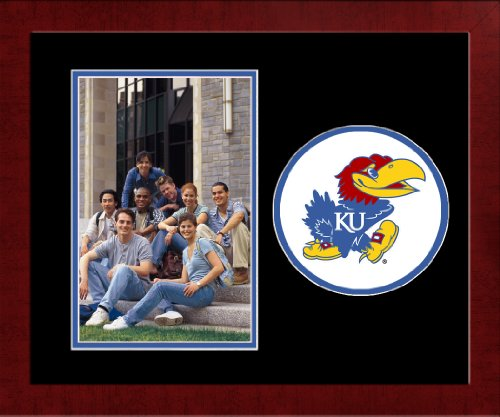 Campus Images NCAA Kansas Jayhawks University Spirit Photo Frame (Vertical)