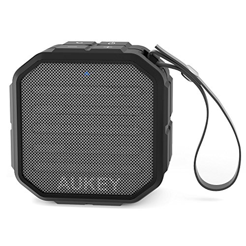 AUKEY Portable Bluetooth Speakers with Enhanced Bass and Built in Mic Outdoor Wireless Speaker Water Resistant for iPhone, iPad, Samsung by AUKEY (Image #1)