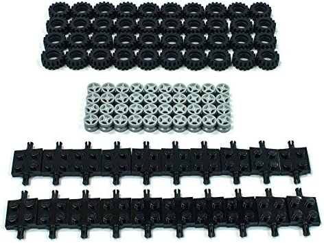 Lego NEW 21 x 9.9 tire /& 14 x 9.9 mm wheel pieces   set of 4